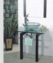 玻璃台盆(B-010)