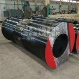 鋼絲繩捲筒組分類650*3000大齒盤滾筒生產定製