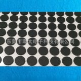 硅膠腳墊 自粘硅膠防滑墊 耐磨自沾黑色網格橡膠墊 圓形防滑減震橡膠墊圈 橡膠腳墊模切定制