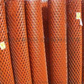 轻轨工程护栏网厂家 钢板网 定做菱形冲孔网