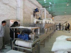 广州志雅三元材料微波干燥机,不烧传输带