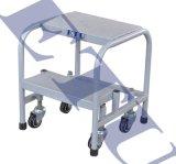 ETU易梯優|彈簧腳輪移動平臺梯|移動平臺|移動腳踏臺|登高平臺
