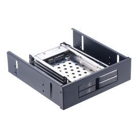 2.5寸双盘铝合金光驱位SATA内置硬盘盒