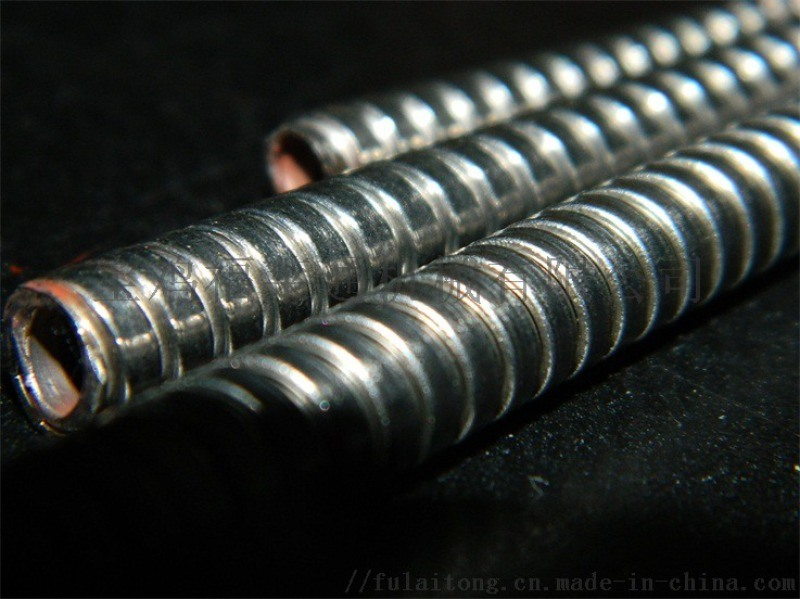 1寸双扣不锈钢金属软管直径25mm福莱通供应
