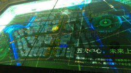 液晶透明屏55寸65寸72寸86寸透明显示屏