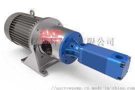 高压机床冷却泵ATS25-60-S-L-A-G-KB 流量37.5升每分钟压力70bar主轴中心出水**冷却排屑断屑现货配套供应龙门铣床