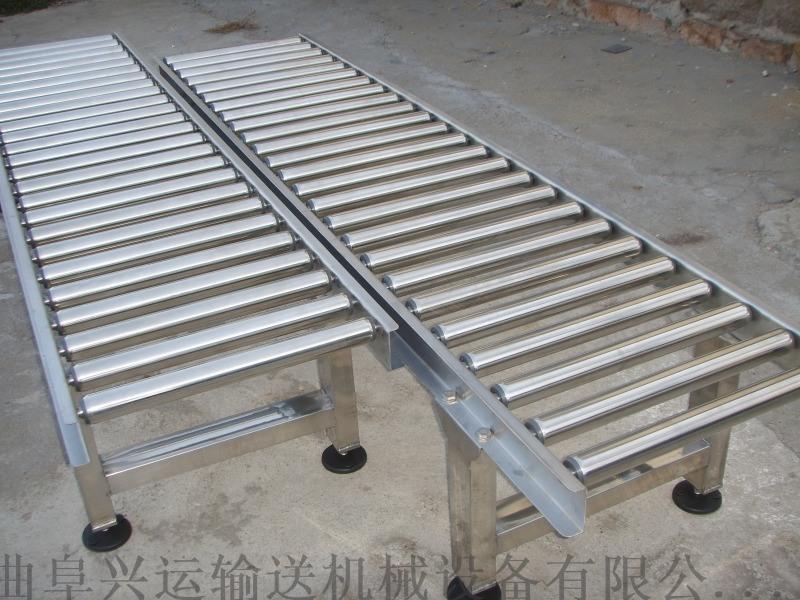 动力辊筒输送机多层分拣 水平输送滚筒线安徽