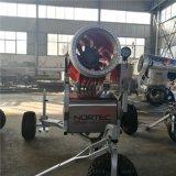 大型滑雪场造雪需要几台造雪机诺泰克造雪机