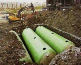 工业化粪池设计图 地埋式玻璃钢小款化粪池 化粪池