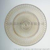 玻璃盤  居家日用盤 水果盤 乾果盤 沙拉淺盤