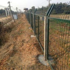 框架铁路护栏网-铁路防护栅栏-铁路围挡
