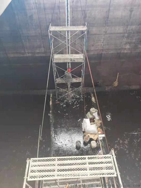 天津化工厂水池伸缩缝堵漏、马蜂窝堵漏技巧