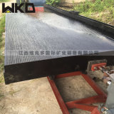 四川广安水冲式淘金摇床 6S大型选矿摇床材质