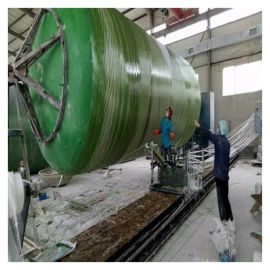 农村模压130立方化粪池安装工程