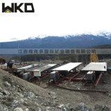 維克多礦業裝備 重力選礦搖牀 6S玻璃鋼搖牀廠家