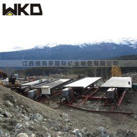维克多矿业装备 重力选矿摇床 6S玻璃钢摇床厂家