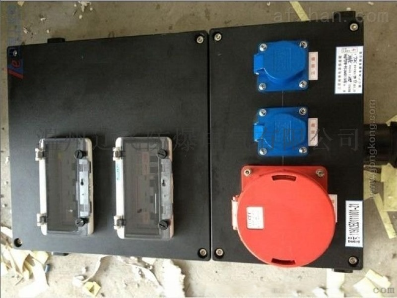 BXS8050防爆防腐动力检修箱带漏电保护
