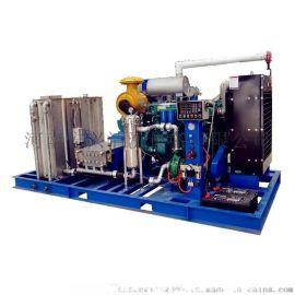 潍柴动力电厂换热器 锅炉检修高压清洗机