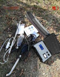 便携式油烟检测仪,型号为青岛路博LB-7022
