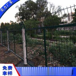 清远防护隔离栅 广州铁路防爬栅栏 江门热镀锌护栏网