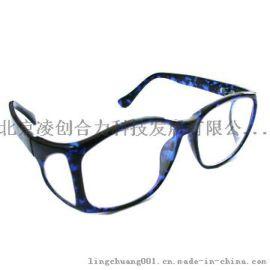 带侧防护防X射线铅眼镜平光型防辐射眼镜