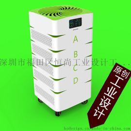 电器设计,家电设计,空气净化器,热风机设计