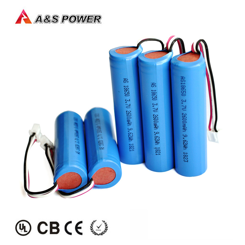18650 电池3.7v 2600mah 离子电池