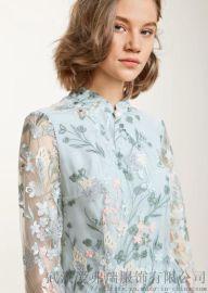 名慕2020春夏新款套头中长款裙子服装拿货过程