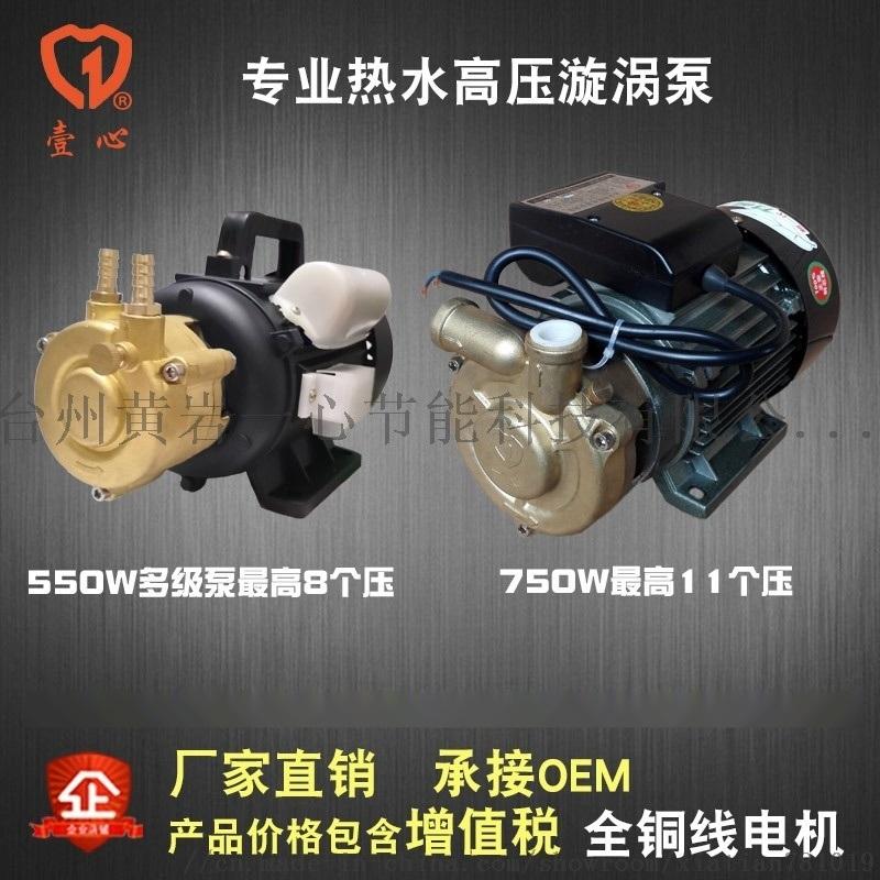 750W高压漩涡泵,多级高温水泵,锅炉给水泵