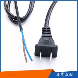 国标二插 电源线 插头线 连接线
