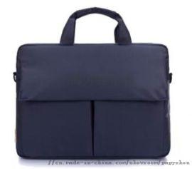 箱包工厂供应定制牛津布商务单肩手提电脑包 礼品包