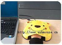 USB电热暖手鼠标垫