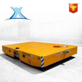 自动化定点移动蓄电池小车升降平台车无轨电动平车自动保护轨道