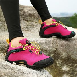 登山鞋男防水透气户外运动鞋防滑耐磨春夏季新款徒步旅游鞋女