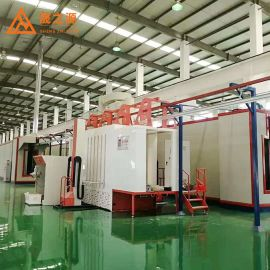型材喷涂线悬挂式流水线涂装生产线喷涂固化炉