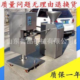 加工火腿肠机器 木箱包装腊肠香肠气动定量灌肠机 成套火腿肠设备