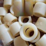 高耐磨机械尼龙配件 螺纹尼龙轴套订制 耐磨高强度PA66塑料配件