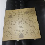 2.5厚牆面裝飾穿孔圖案鋁單板,透光鋁單板幕牆,木紋鋁板