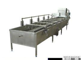 海带清洗机 机械手海带清洗机 昊昌蔬菜清洗流水线