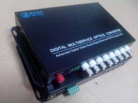 8路视频2路电话2路以太网 8路多业务光端机
