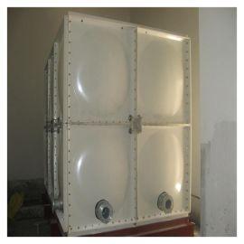 屋顶水箱玻璃钢生活消防水箱