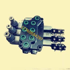 电动叉车三路多路换向阀液压分配器江苏液压件微动开关