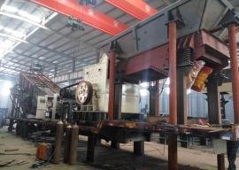 简易型移动式石料生产线 多功能移动破碎站