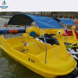 脚踏船 电动船 水上自行车 水上三轮车