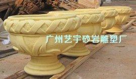 仿砂岩雕塑花盆|广西仿砂岩雕塑喷泉|海南仿砂岩雕塑厂家