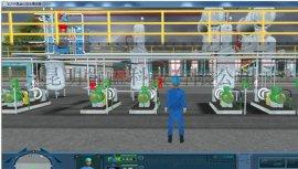 **三效蒸发系统3D虚拟现实仿真软件