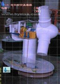 风力发电机机舱结构原理仿真模型