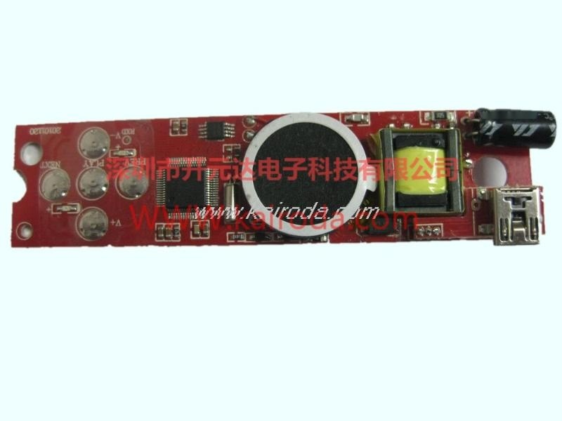 直髮器控制板PCB電路板線路板設計開髮帶MP3播放
