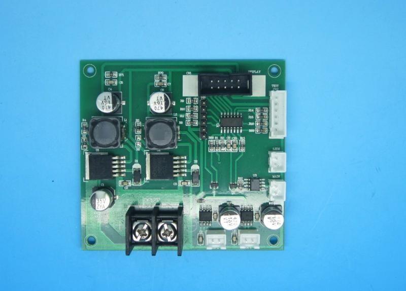 LED大數碼管顯示器皮膚水份含量檢測控制電路板PCB線路板開發設計
