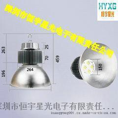 恒宇星光供应聚光LED工矿灯100W